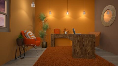 Blurry desert office - Office  - by Niva T