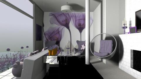 Water Orchid - Modern - Living room - by Karenina