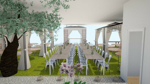 Sangkot Reception - Garden - by bellelleb