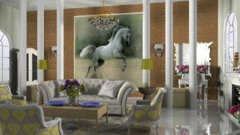 Buttercup - Country - Living room  - by Open Spaces