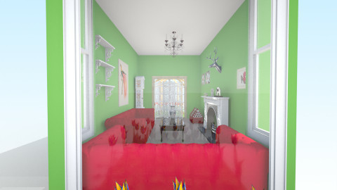 Parlour - Feminine - Living room - by clare299