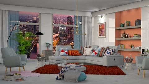 New living design - Living room - by snjeskasmjeska