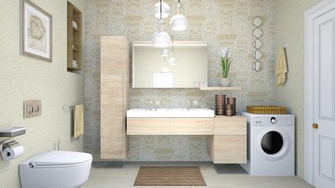 basic bath - Modern - Bathroom  - by zayneb_17