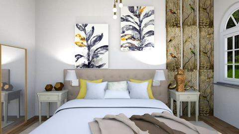bedi - Bedroom  - by Zenabodeinteriors