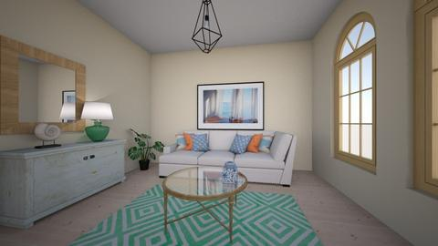 Coastal chic - Classic - Living room  - by Ankica Radivojevic