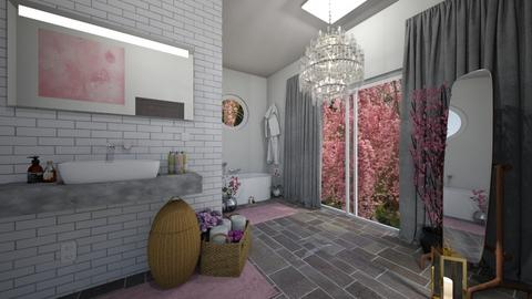 Cherry Blossom Bathroom - Bathroom  - by Niall chOnce