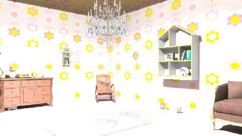 ROCIO BALTAZAR - Glamour - Kids room  - by sweetro77
