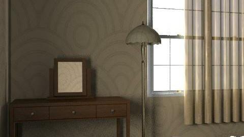 2 - Rustic - Bedroom  - by misspsk