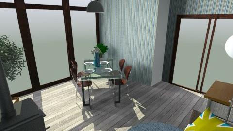 Jidelna a odpocinek - Dining room - by couhy26