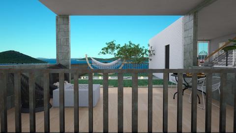 rooftop terrace_Yudum - Garden  - by Yudum Kutlu