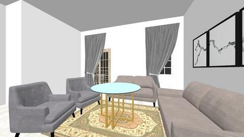 nasom 102 - Living room  - by wael maged