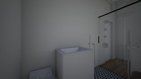 jack and jill b room - Bathroom  - by notabena