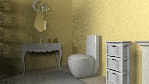 Charming Bathroom - Vintage - Bathroom  - by beabiabolhas