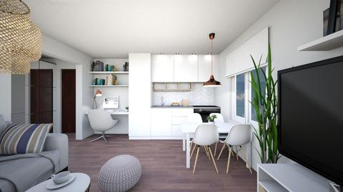 Tiny condo - Minimal - by patie_k