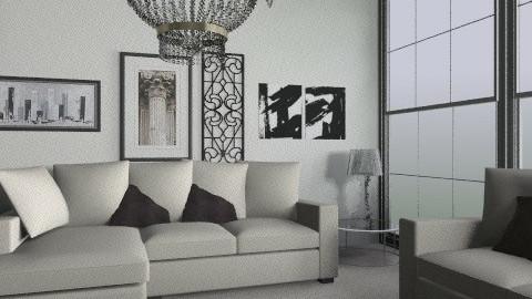 Living Room - Glamour - Living room  - by Niopanne94