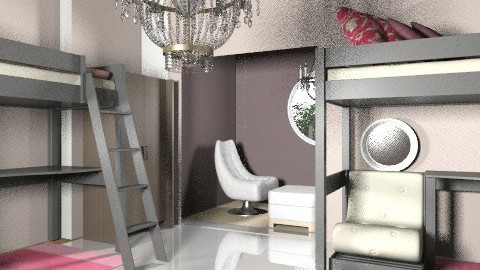 bedroom - Glamour - Bedroom  - by livliv