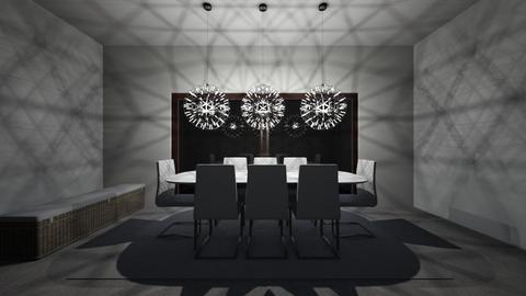 Night sky - Dining room - by acquah101