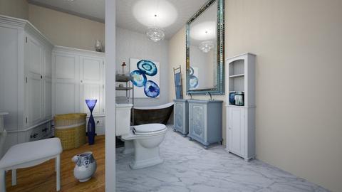 etaj cu baie si dressing  - Eclectic - Bedroom  - by Vela