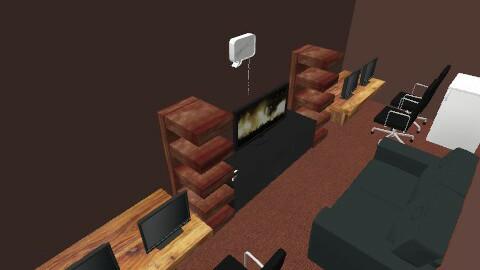 Hardcore Gamer room - Eclectic - by fallen121292