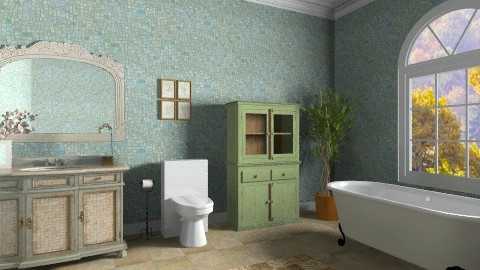 Old Bathroom - Classic - Bathroom - by deleted_1566988695_Saharasaraharas