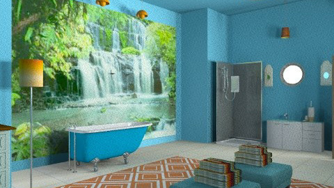 Guest bathroom - Eclectic - Bathroom  - by wiljun
