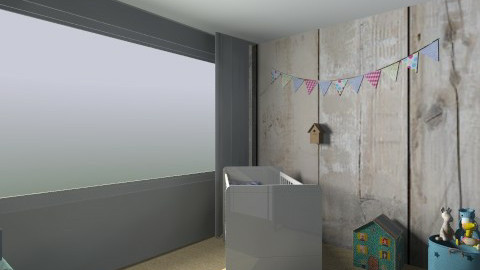 babykamer twee - Classic - Kids room  - by Keet