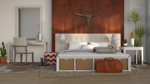 Big Western - Country - Bedroom  - by millerfam