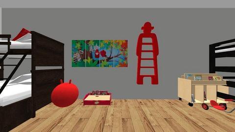 mansion - Modern - by kekegirl125
