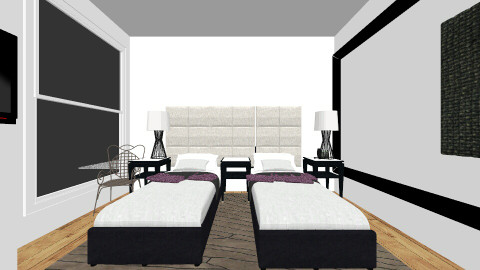 Dads new bedroom v2 - Living room - by meloves