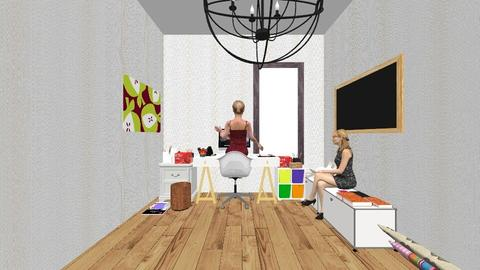 Fashion fun office - Modern - Office  - by deleted_1555954801_Shoe690