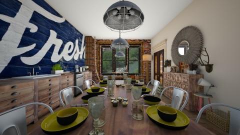 Kitchen - Eclectic - Kitchen  - by camilla_saurus
