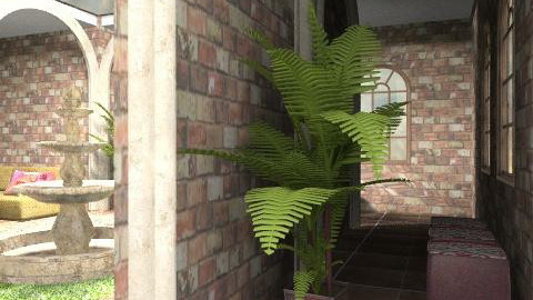 Courtyard - Rustic - Garden  - by chania