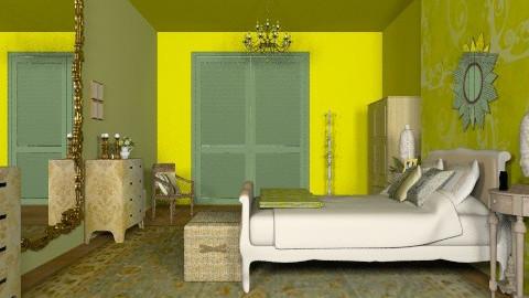 Indian Ivy 2 - Vintage - Bedroom  - by mrschicken