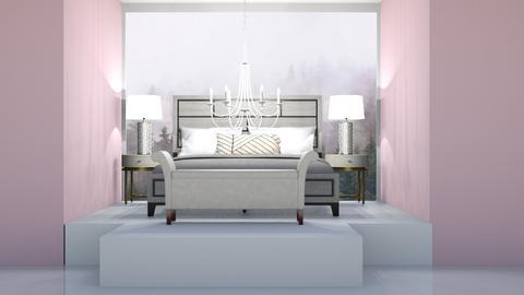 Rose Trellis 4 - Bedroom  - by rona123