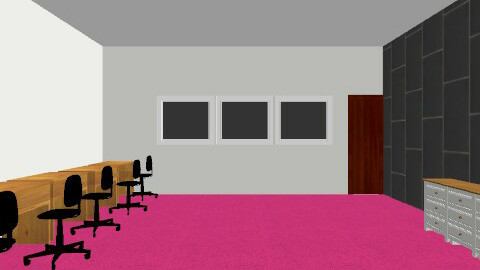 the room of souls - Retro - Office  - by chaterss