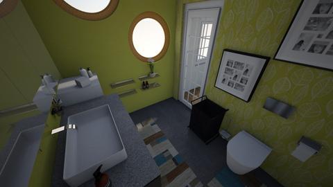 Banheiro Simples  - Modern - Bathroom - by amandacada