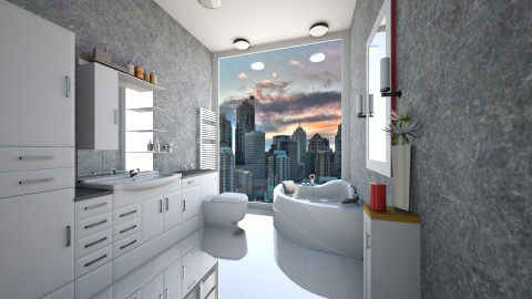 Modern Bathroom - Minimal - Bathroom - by TK Designs