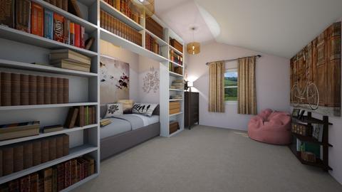 Nookish bedroom - Eclectic - Bedroom  - by SpicyMcPie