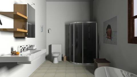 luxury family bathroom - Modern - Bathroom - by Thomas Meredith