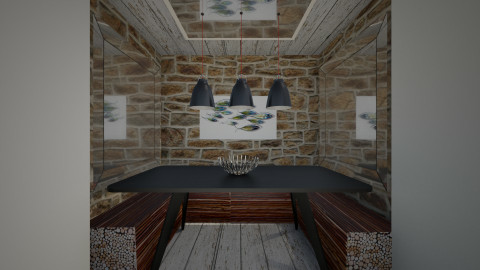 Dining nook, house Sweden - Dining room  - by Amy Neil_415