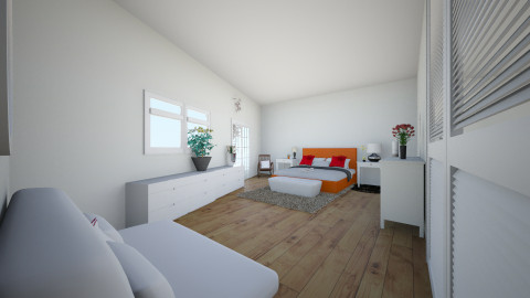 RETRO PHYR BEDROOM - Retro - Bedroom  - by Sapphire Masters