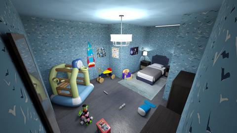 boys room - Kids room  - by bortholf