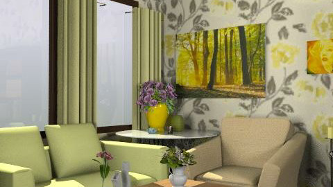flover - Rustic - Living room - by m_mm__mikkonen