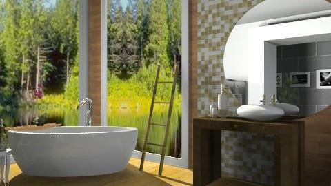 eco house/bathroom - Global - Bathroom - by FN27622