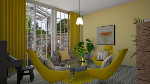yellow - Living room  - by steker2344