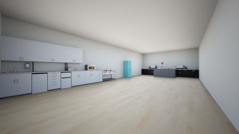 kitchen and buffet - Modern - Kitchen  - by inyat