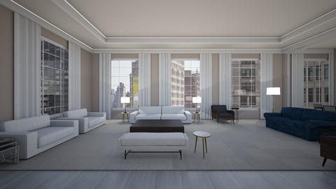301 E 80th St Unit 19B - Modern - Living room  - by sfurkan