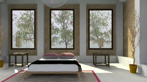 Clean Mind - Minimal - Bedroom  - by 3rdfloor