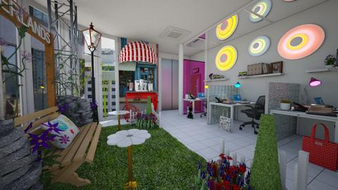 playful office - Modern - Office  - by donella
