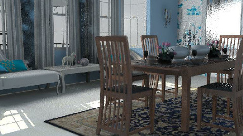 Wedgewood Dining Room - Dining Room - by Interiors by Elaine
